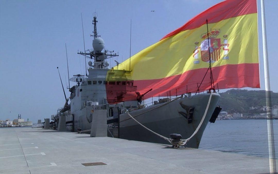 El patrullero Infanta Cristina recala en puerto ceutí dos días