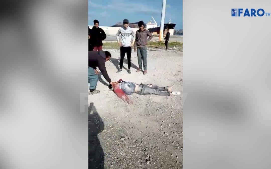Fallece un menor atropellado por un camión en el puerto de Ceuta