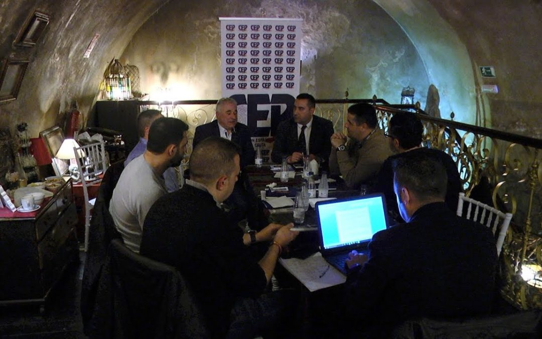 Exponen los problemas de la Policía Nacional en la Asamblea provincial de la CEP