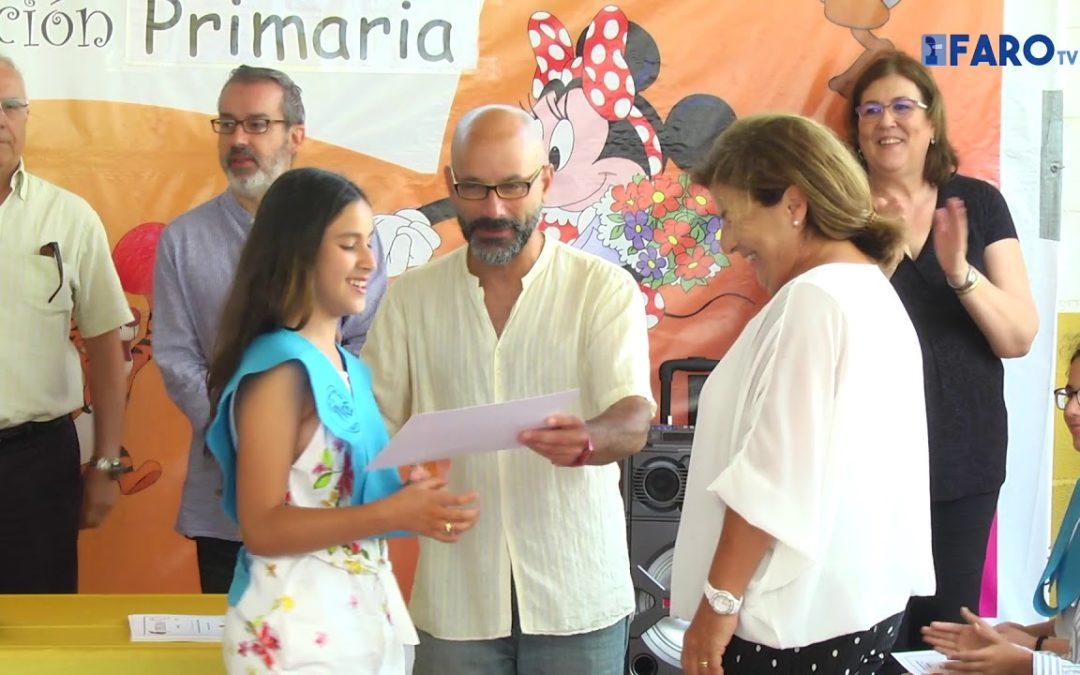 Graduación de los alumnos de sexto de Primaria del colegio Valle Inclán