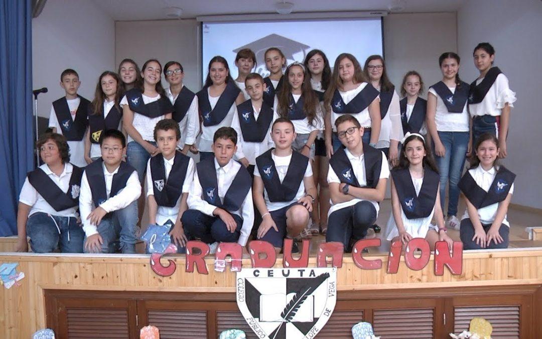 Graduación de Primaria en el colegio Lope de Vega