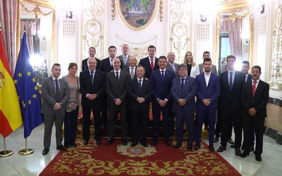 Vivas confirma que Rubiales incrementará el apoyo al fútbol de Ceuta