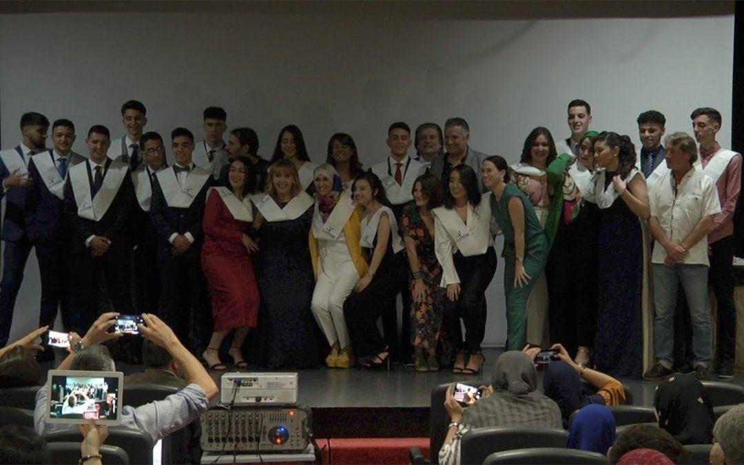 Graduación de Bachillerato en el instituto Clara Campoamor de Ceuta