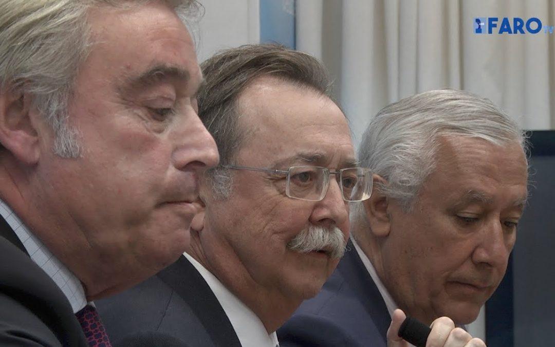 Javier Arenas y José Manuel Barreiro (PP) visitan Ceuta