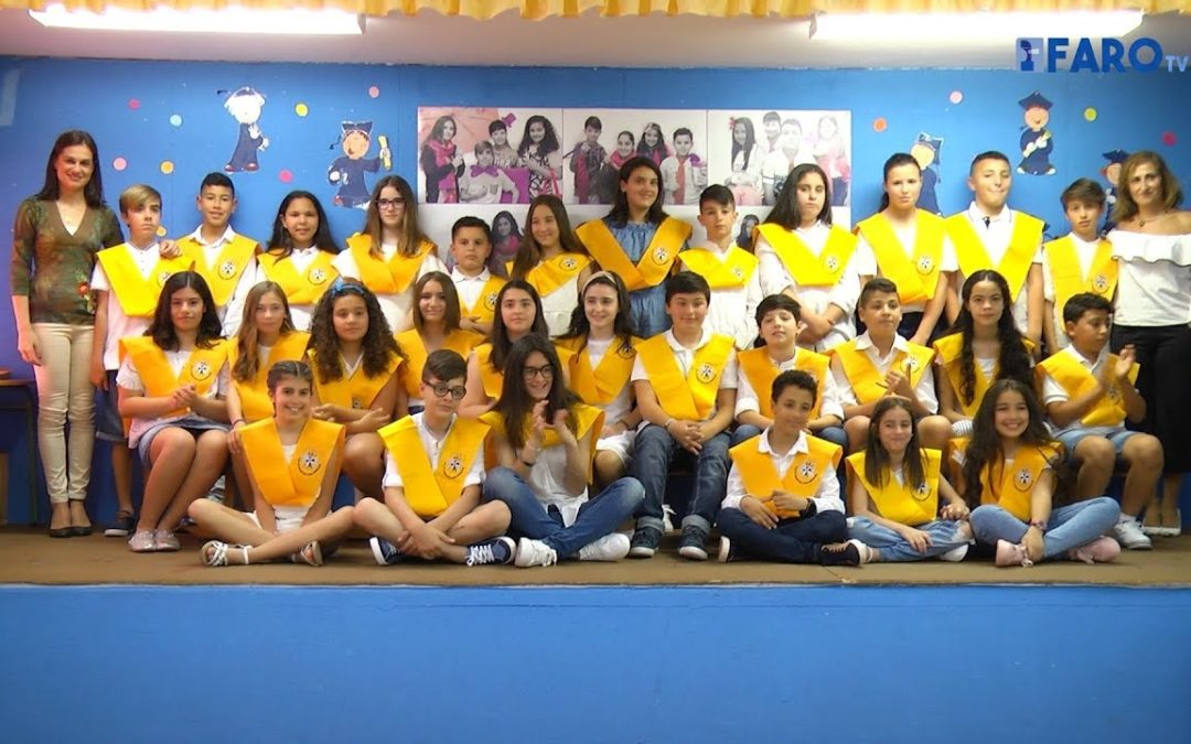 Jornada de graduaciones en el colegio Juan Morejón