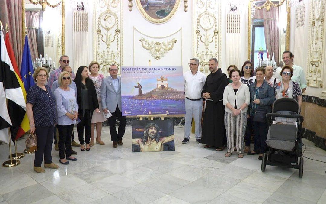 El milagro de San Antonio 'ilumina' el cartel anunciador de la romería