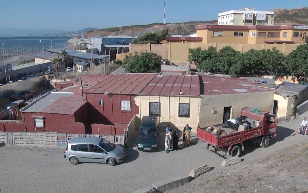Cuatro familias atrapadas en el último rincón de Ceuta