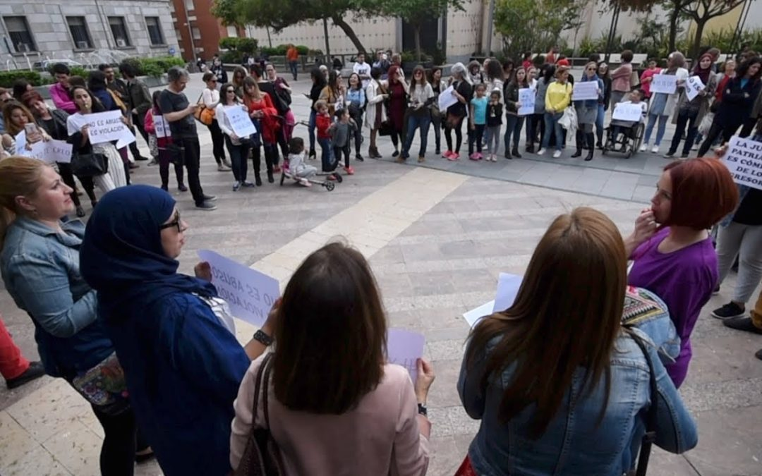 'No es abuso, es violación', indignación y solidaridad en Ceuta