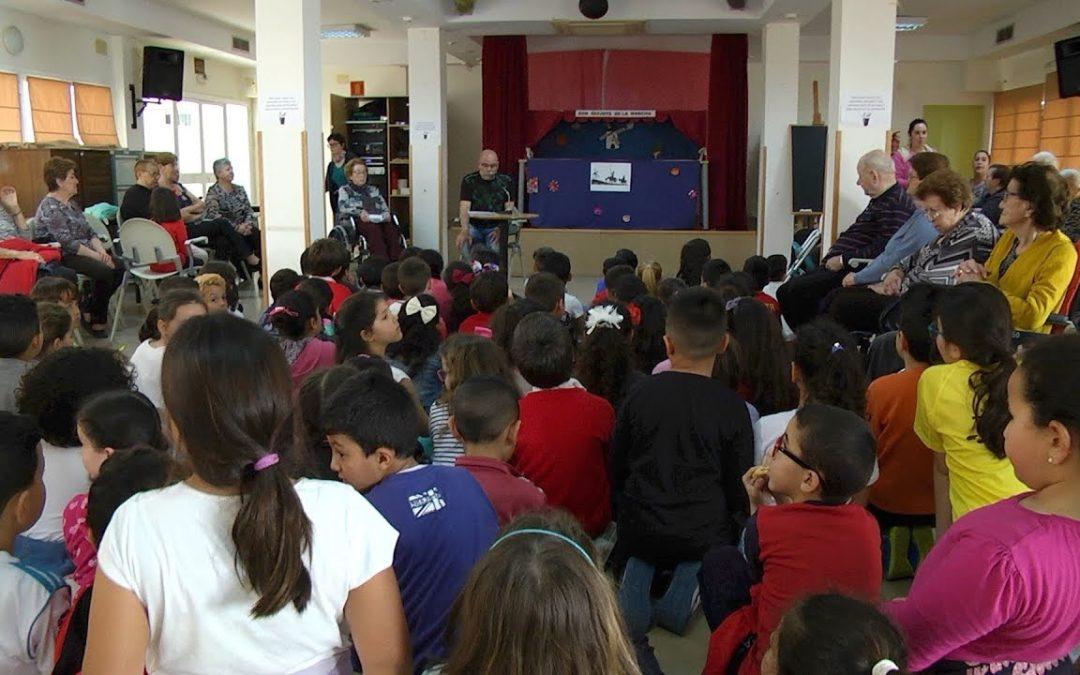 El Centro de Mayores pone voz a Cervantes por el Día del Libro