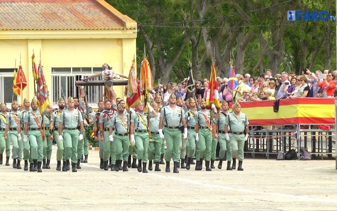 Aniversario de la concesión de las laureadas al Tercio de Duque de Alba 2º de La Legión