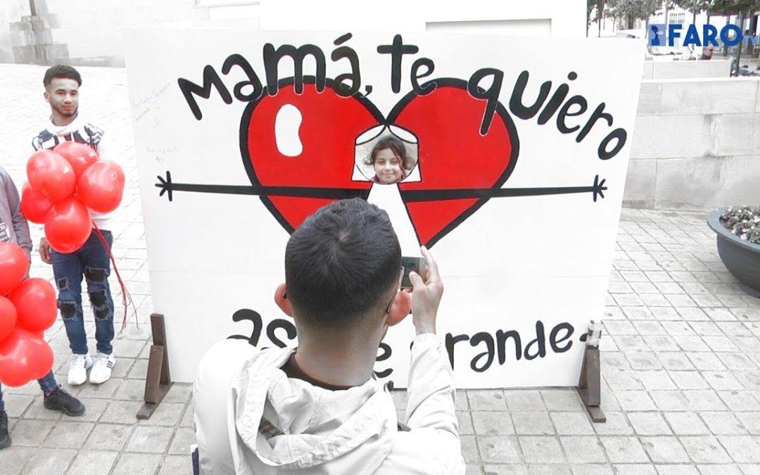 Un photocall por el Día de la Madre