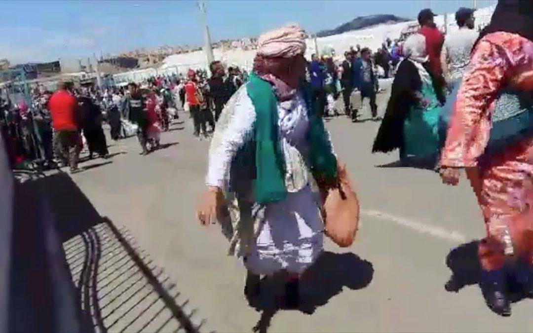 Nueva avalancha en la frontera entre Ceuta y Marruecos