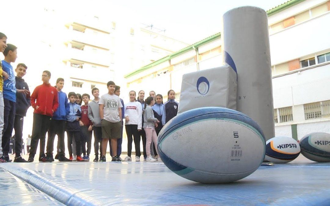 Rugby: un deporte con valores que llega a los colegios en Ceuta