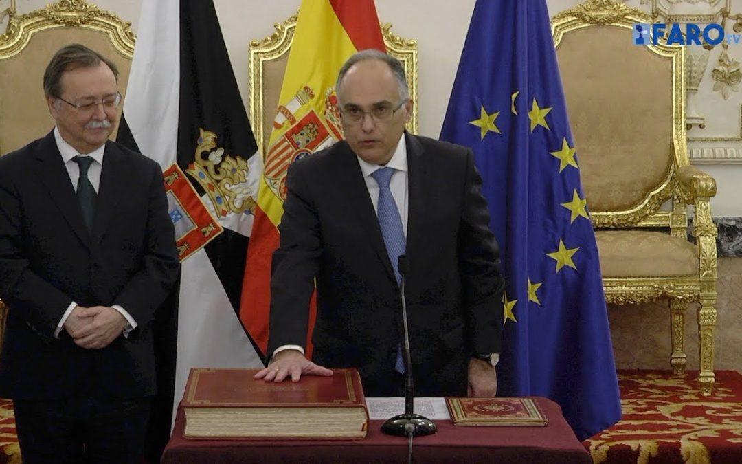 Gaitán toma posesión de su cargo como consejero de Economía