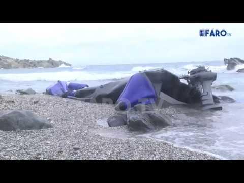 La Guardia Civil localiza una semirrígida destrozada en la playa de Calamocarro