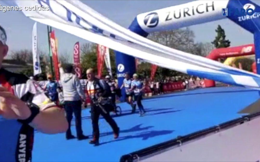 Agustín de Sousa vuelve a terminar la Maratón de Sevilla