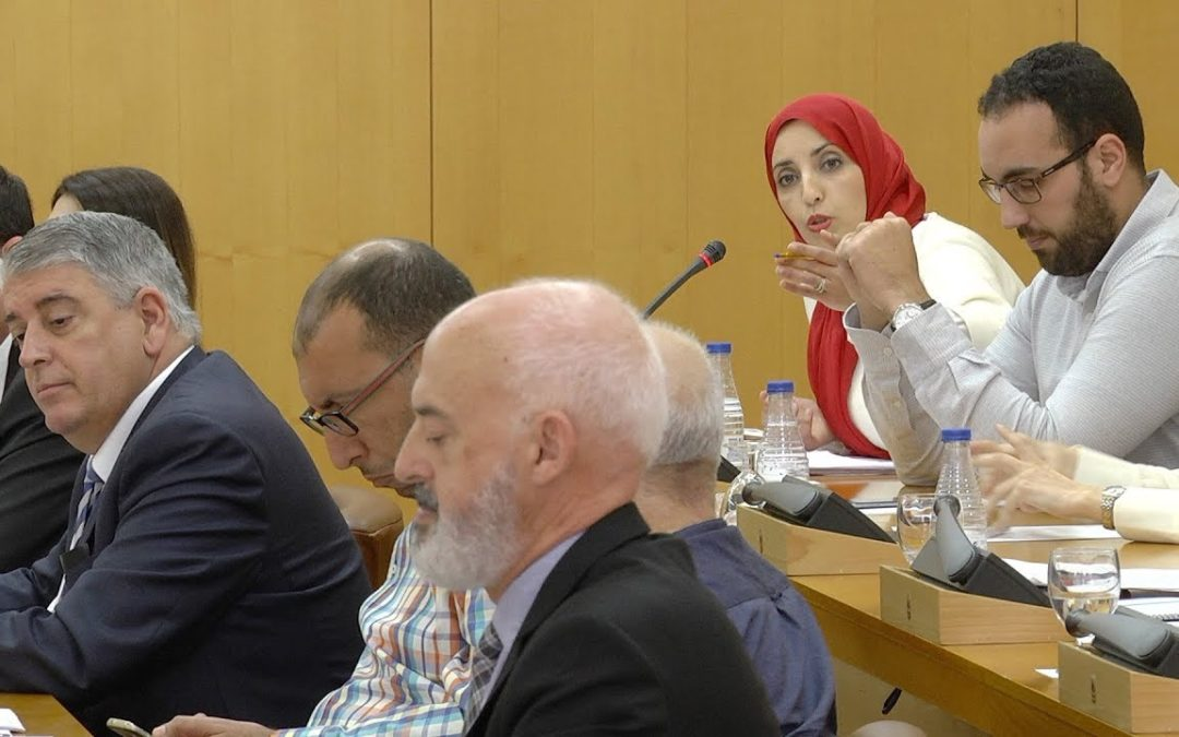 """Aróstegui llama """"mamarracha"""" a Hamed en mitad del Pleno"""