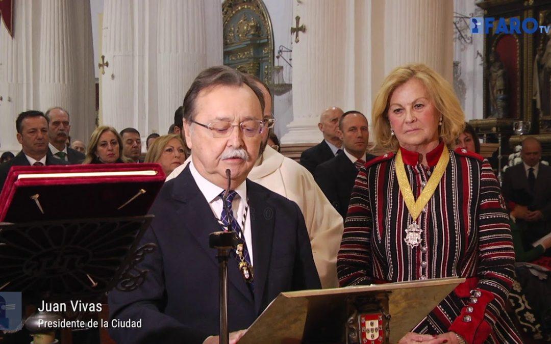 Renovación del Voto de Gracias a la Patrona de Ceuta