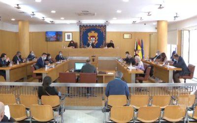 Sesión plenaria extraordinaria de la Asamblea de Ceuta del mes de enero