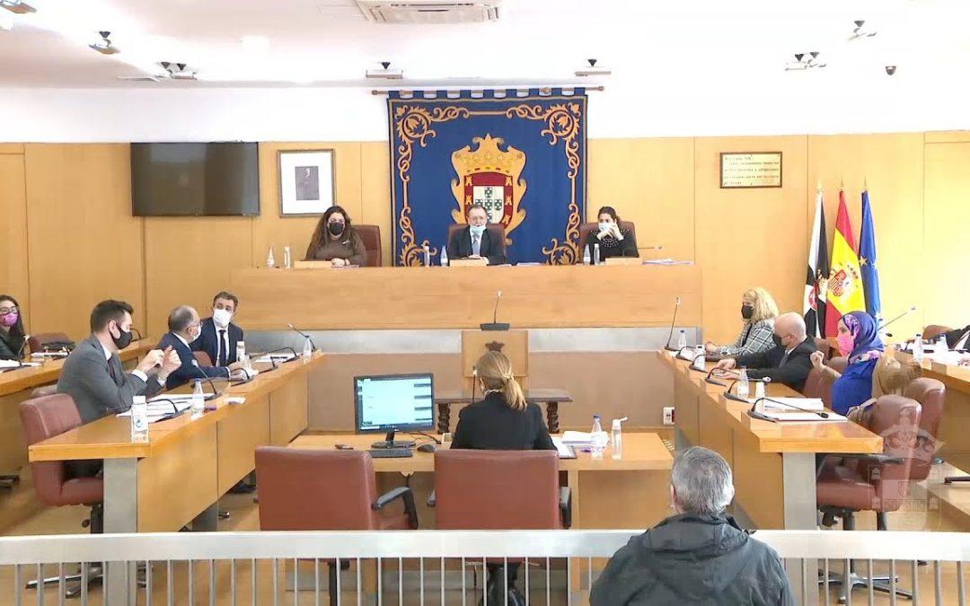 Sesión plenaria ordinaria correspondiente al pasado mes de enero