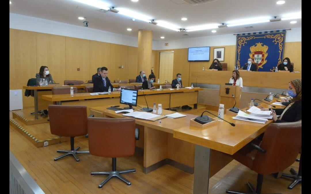 Pleno de sesión de control al Gobierno de la Asamblea de Ceuta correspondiente a marzo de 2021