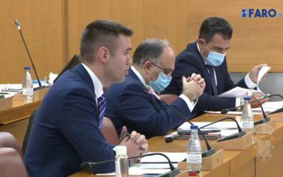 Pleno de sesión de control al Gobierno de la Asamblea de Ceuta correspondiente a diciembre de 2020